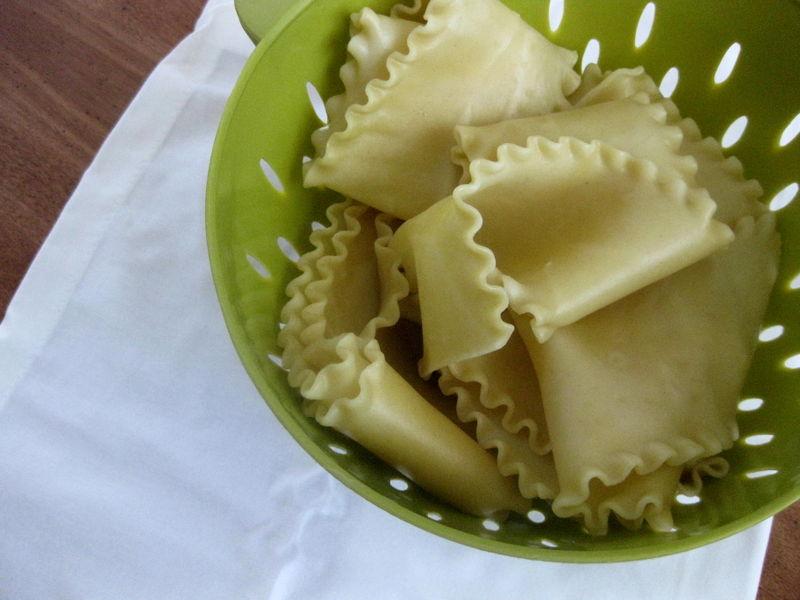 Lasagna-pasta