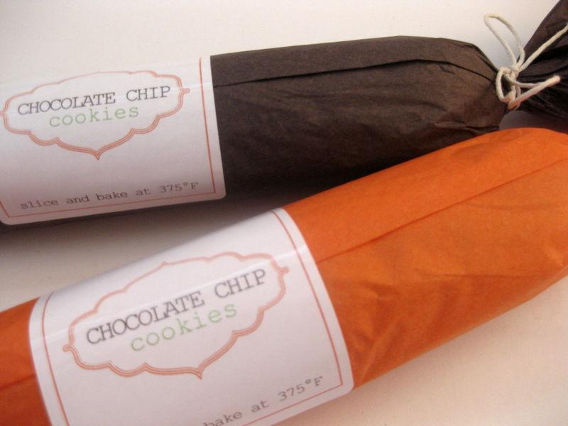 Cookie dough hostess gift-close shot