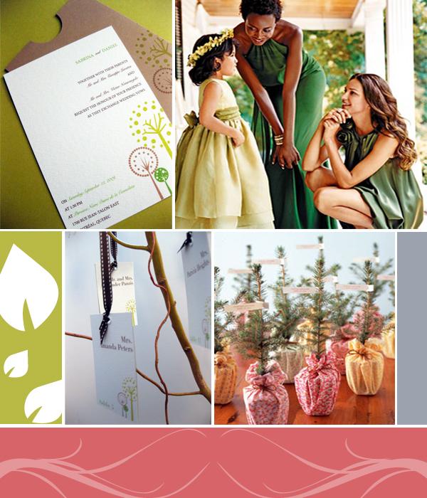 Tree Themed Wedding Ideas: The Final Touch: Tree Wedding Theme